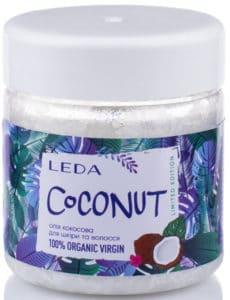 Маска для волосся з кокосового масла - Купити від виробника - Леда 100% натуральна косметика для волосся